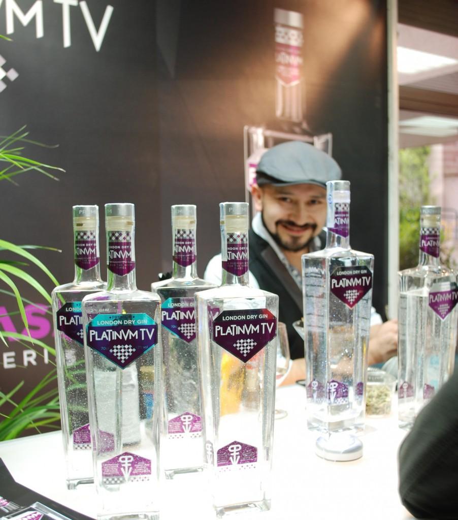 Gabriel Burneo Bartender Platinum tv gin