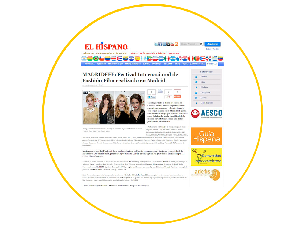 Duapara-articles-for-Press-El-hispano-MFFF