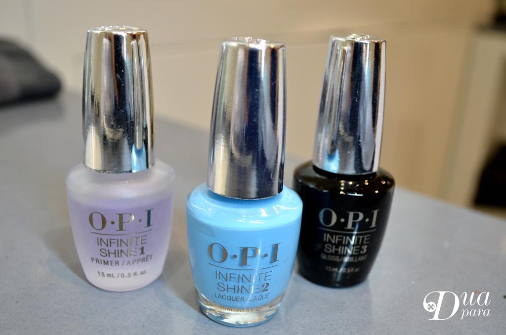 Tendencias de manicura para este verano Infinity shine OPI