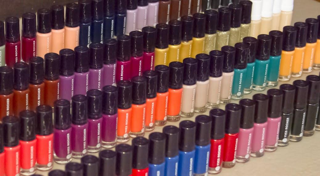 Teoría del color, los nuevos esmaltes de Yves Rocher