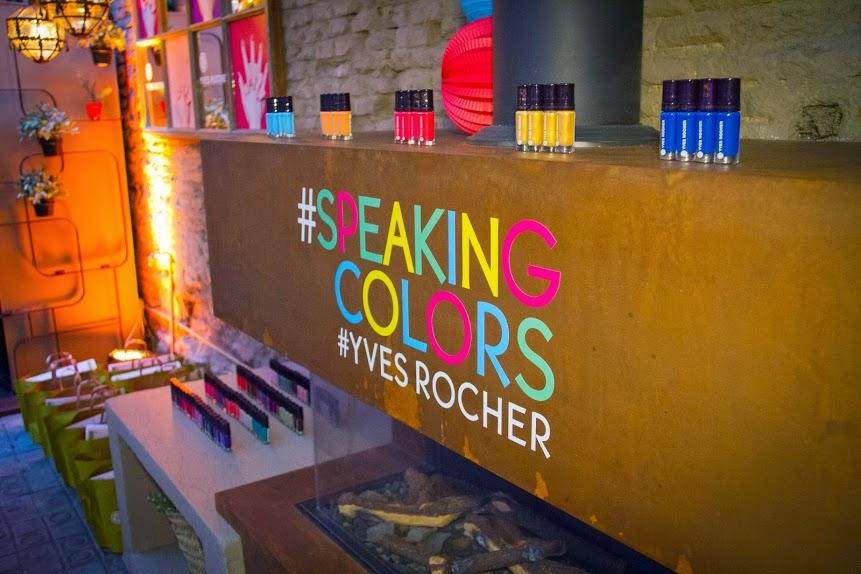 speakingcolors Teoría del color, los nuevos esmaltes de Yves Rocher