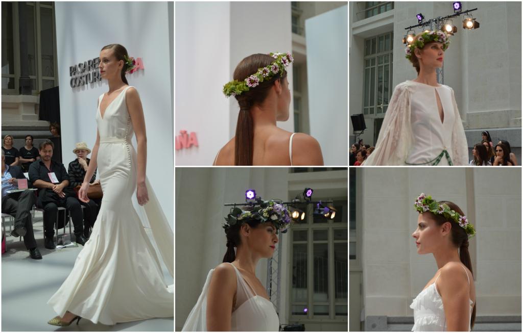 Coronas de flores novias