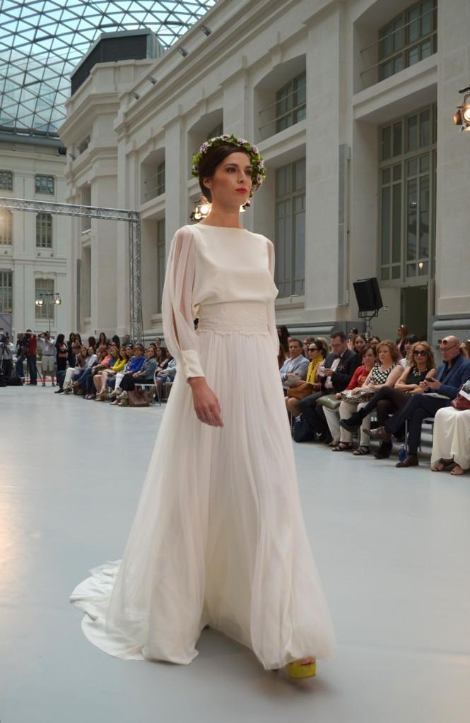 Diseños de  vestidos novia 2016 Eñena Rubio Pasarelas 2