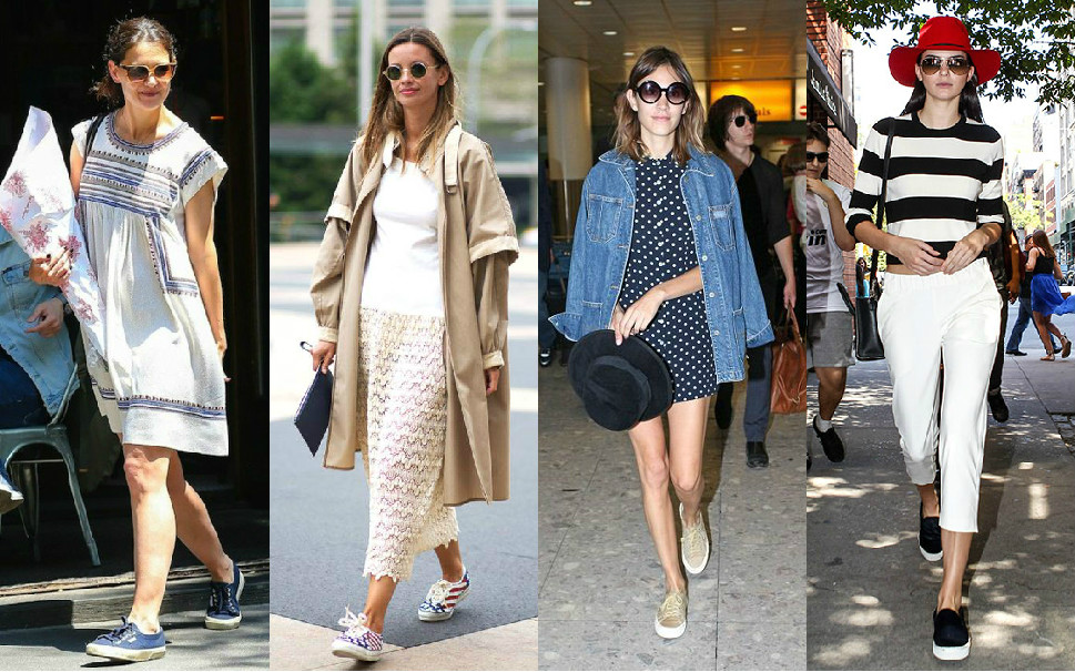 Looks veraniegos con zapatillas