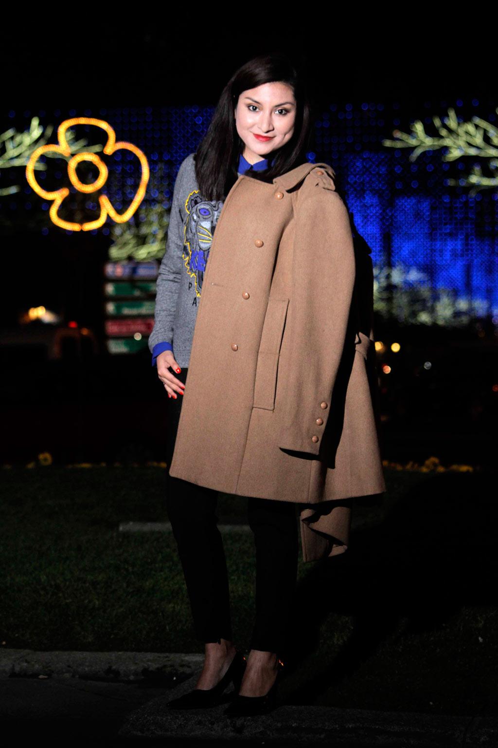 look de invierno abrigos