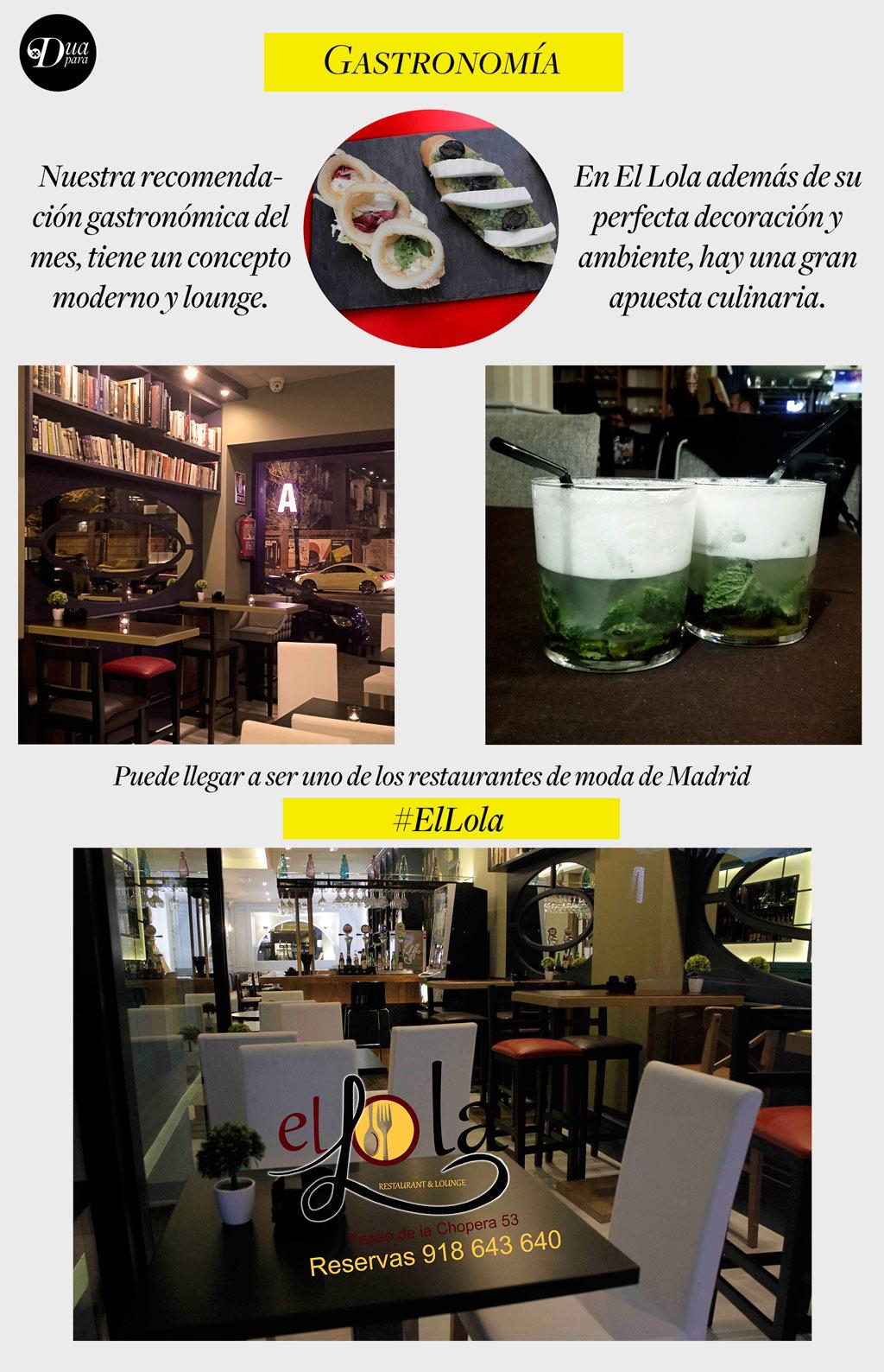 ElLolaRestauranteMadrid