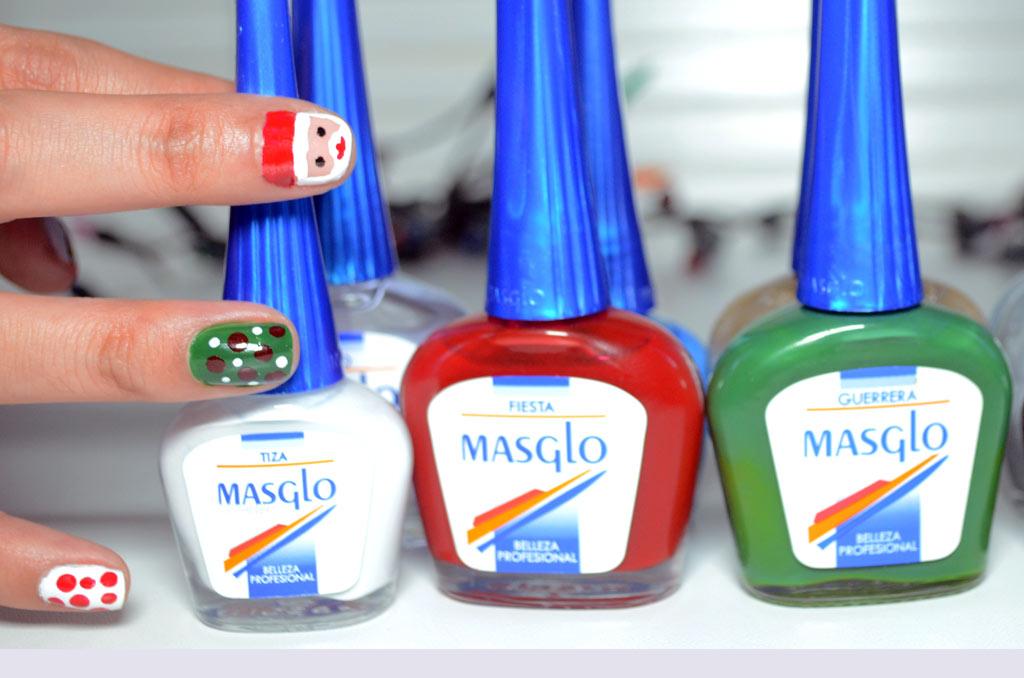 manicura-navidad-masglo-nail-art - Duapara