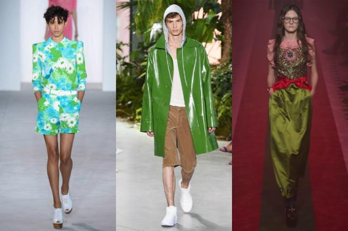 Looks greenery tendencias 2017 01