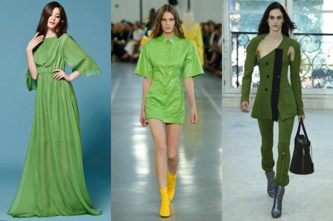 combinar verde para vestir