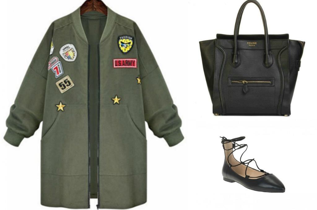 verde militar moda primavera verano2017